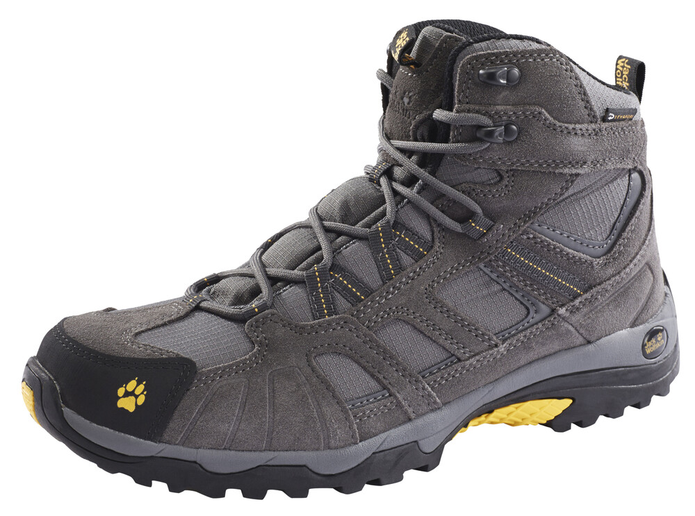 Gris Jack Wolfskin Chaussures Texapore Pour Les Hommes xVeflV